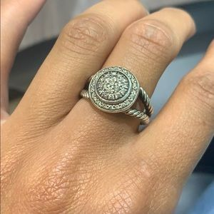 David Yurman Pave Diamond Ring